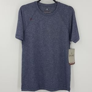 RHONE Midnight Heather Reign Tee SzS